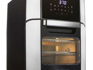 West Bend Xl12 6qt Air Fryer Oven   Black