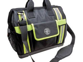 KlEIN TOOlS 55598 Tool Bag  1680D Ballistic Polyester  42 Pockets