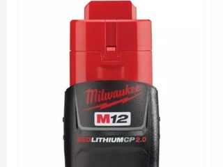 M12 12 Volt lithium Ion 2 0 Ah Compact Battery Pack Retail   64 97