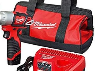 Milwaukee Tool Kit with Drill and Charger Retail   138 95
