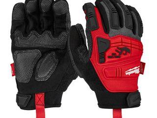 Milwaukee large Impact Demolition Gloves  Red Retail   29 99