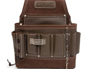 Estwing 94749 8 Pocket leather Electrician s Tool Belt Pouch