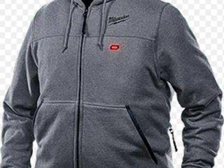 Milwaukee M12 Heated Grey Hoodie Medium Retail   159 00