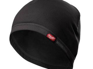 Milwaukee Workskin Mid Weight Hard Hat liner  Black