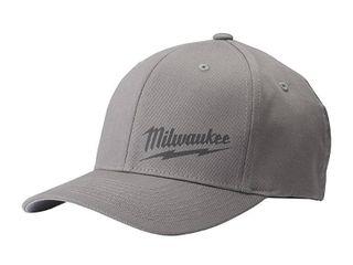 Milwaukee Small Medium Gray Fitted Hat