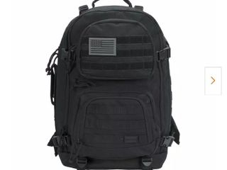 Rockland 20in Black Military Tactical laptop Bag Retail   99 99