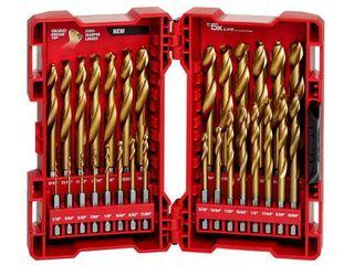 Milwaukee Shockwave 29 Pc Titanium Drill Bit Kit