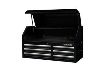 41 in  6 Drawers Top Chest in Black Retail   399 99