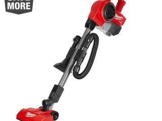 Milwaukee M18 FUEl 18 Volt lithium Ion Brushless 0 25 Gal  Cordless Jobsite Vacuum  Tool Only  Reds   Pinks RETAIlS FOR 199 99