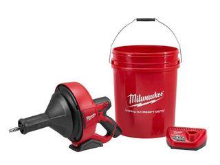 Milwaukee M12 Drain Snake Kit Retail   219 00