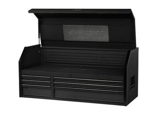 Heavy Duty 52 in  W 6 Drawer  Deep Tool Chest in Matte Black Retail   399 00 HAS DAMAGE SEE PHOTO