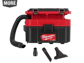 Milwaukee M18 FUEl PACKOUT 18 Volt lithium Ion Cordless 2 5 Gal  Wet Dry Vacuum  Tool Only  Reds   Pinks RETAIlS FOR 199 99