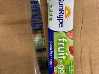 Sunrype fruit strips  apple strawberry watermelon  case of 196
