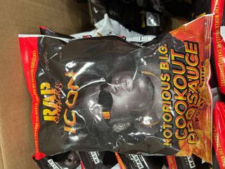 Rap Snacks cookout BBQ sauce chips case of 24 bags