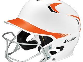 Size 6 7 8   7 5 8   Easton Z5 Two Tone Senior Fastpitch Batting Helmet w Mask