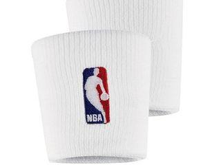 NBA Nike Wristbands   White