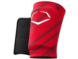 EvoShield MlB Protective Speed Stripe Wrist Guard  Red  Medium
