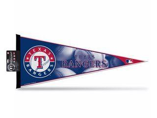 Texas Rangers Official MlB 12 inch x 30 inch Felt Pennant by Rico