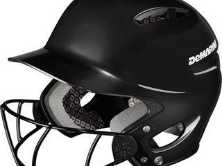 demarini paradox protg batting helmet   s m black