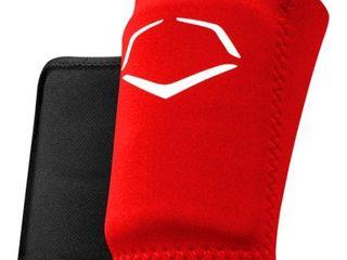 EvoShield Protective Baseball Wrist Guard Red large