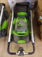Greenworks Pro Dual Battery Self Propelled lawnmower