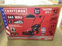 CRAFTSMAN M260 Vertical Storage 163 cc 21 in Self Propelled Gas Push lawn Mower with Briggs   Stratton Engine