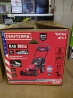 CRAFTSMAN M320 163 cc 21 in Self Propelled Gas Push lawn Mower with Briggs   Stratton Engine