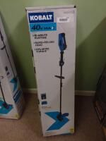 Kobalt 40 Volt Max 15 in Straight Cordless String Trimmer  Battery Included
