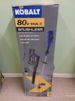 Kobalt 2 Piece 80 Volt Cordless Power Equipment Combo Kit