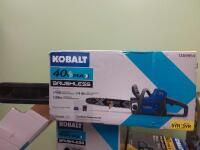 Kobalt 40 Volt 14 in Brushless Cordless Electric Chainsaw  Battery Included