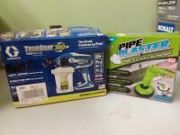 Truecoat Trueairless Paint Sprayer and Pipe Blaster