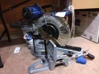 Kobalt 12 in 15 Amp Dual Bevel Sliding Compound Corded Miter Saw