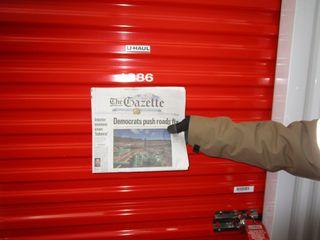 U-haul Storage Unit Auction