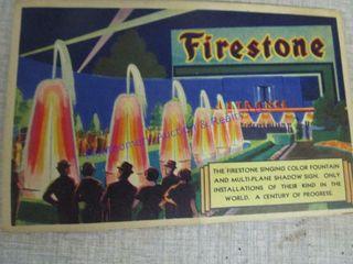FIRESTONE POST CARD