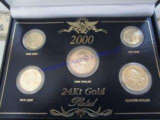 24K GOlD COINS