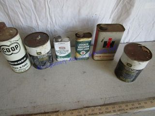 GREASE OIl CANS
