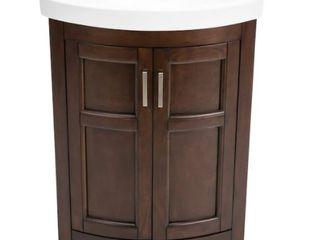 Style Selections Chocolate Finish Vanity
