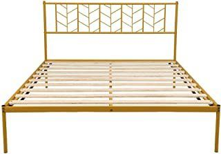 Metal Bed Frame Double Wide Size
