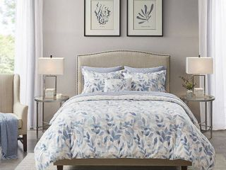 Madison Park Essentials Thelma Reversible Complete Bedding Set Cali King Size