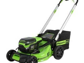 Greenworks Pro Cordless Self Propelled lawn Mower