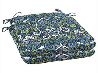 Arden Selections Aurora Damask Outdoor Seat Cushions Set of 2