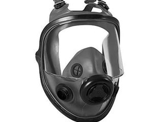 Honeywell North 5400 Series Niosh Approved Full Facepiece Respirator  Med large  54001