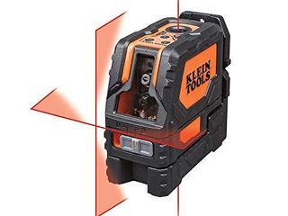 Klein Tools 93lClS laser level  Cross line level with Plumb Spot  leveler Tool with Magnetic Mounting Clamp  Self leveling
