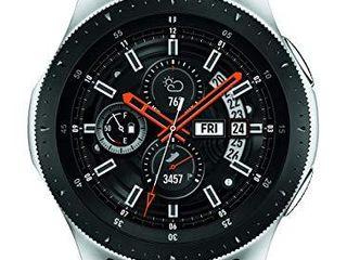 Samsung Galaxy Watch  46mm  GPS  Bluetooth  Silver Black