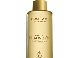 Keratin Healing Oil Hair Treatment  By l Anza   6 2 Oz Treatment