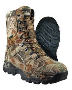 Itasca Waterproof Camo Boots Size 13