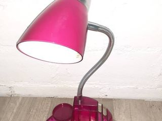 Pink lamp with Organization Tray