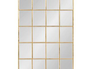 Kate and laurel Denault Framed Windowpane Mirror   24x36  Retail 199 99