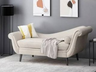 Calvert Contemporary Chaise lounge by Christopher Knight Home  Retail 585 99
