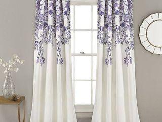 Porch   Den Elcaro Floral Room Darkening Window Curtain Panel Pair